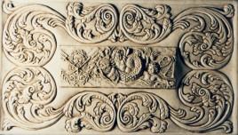 Modellazione in bassorilievo realizzato in gesso e polvere di marmo 25cm x 40cm, 2009