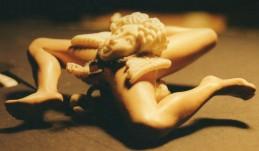 Trinacria. Scultura modellata a tutto tondo in cera e realizzata in argento 14 cm x 14 cm. Committente privato, 2008
