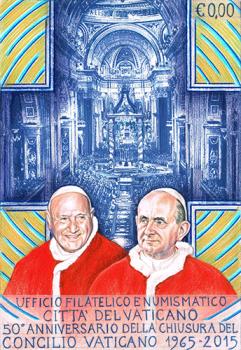Disegno per custodia cartoline. Committente: Città del Vaticano, 2015.