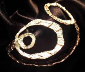 Bracciale in argento. Committente privato, 2010