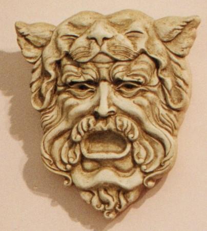 Applique. Modellazione in altorilievo realizzato in gesso e polvere di marmo 43 cm x 39 cm, 2008