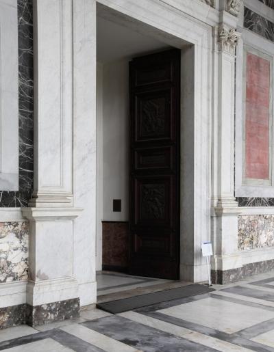 Porta della Basilica Papale di S.Paolo Fuori le Mura, Roma