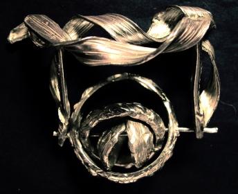 Pendente in argento. Committente privato, 2007