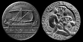 Medaglie di bronzo fuso. Committente: ditte private, 1998 - 2005