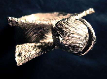 Anello in argento. Committente privato, 2010
