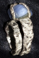 Anello in argento. Committente privato, 2011