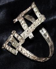 Bracciale in argento. Committente: privato, 2010
