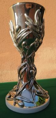 Calice realizzato per essere donato da Papa Francesco agli Ortodossi in occasione del viaggio in Terra Santa
