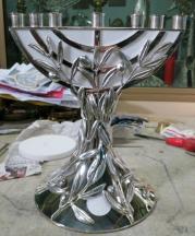 Menorah realizzata per essere donata da Papa Francesco agli Ebrei in occasione del viaggio in Terra Santa